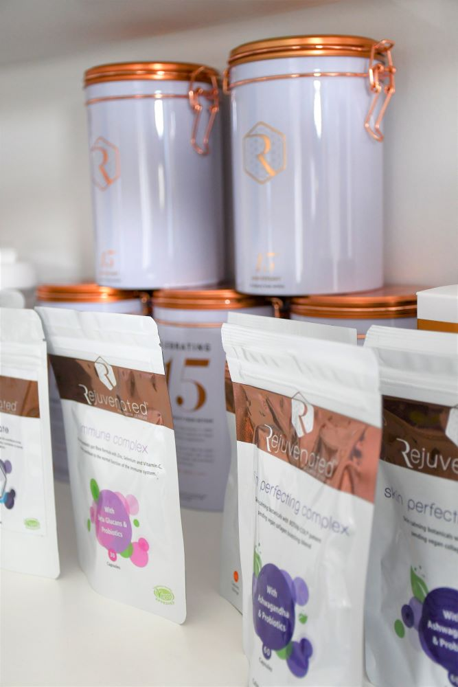 Rejuvenated collagen products Tracey Hughes Beauty wellness